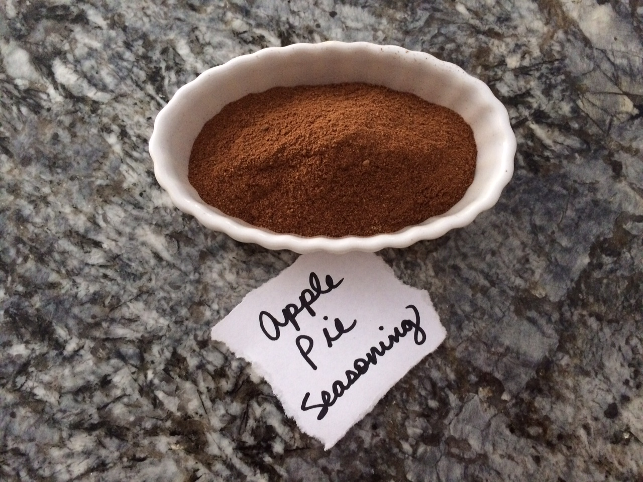 Apple Pie Seasoning